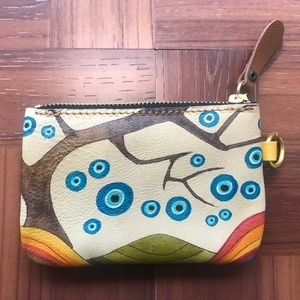 Handbags - Wallet Leather Handmade Evil Eye Coin Card Holder